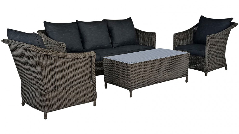Everly 4 Piece Outdoor Lounge Setting Lounges