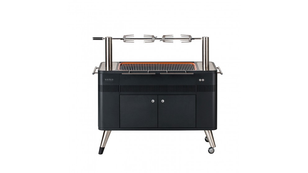 Everdure by Heston Blumenthal HUB Electric Ignition Charcoal BBQ