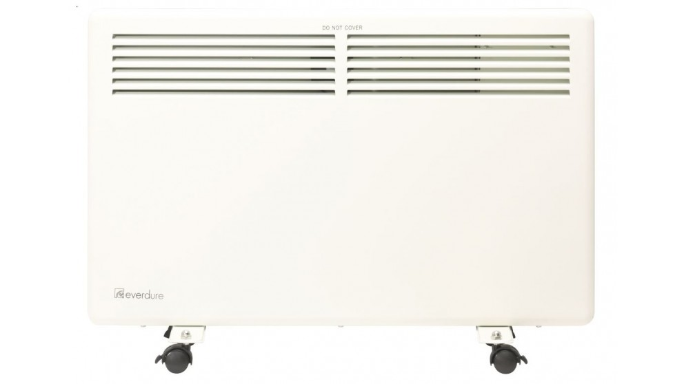 Omega Altise 1500W Panel Convection Heater with LED Display - White