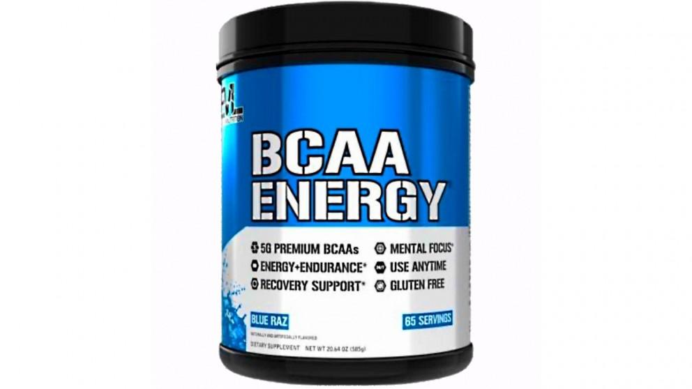 EVL Nutrition BCAA Energy Blue Bazz - 65 Serve