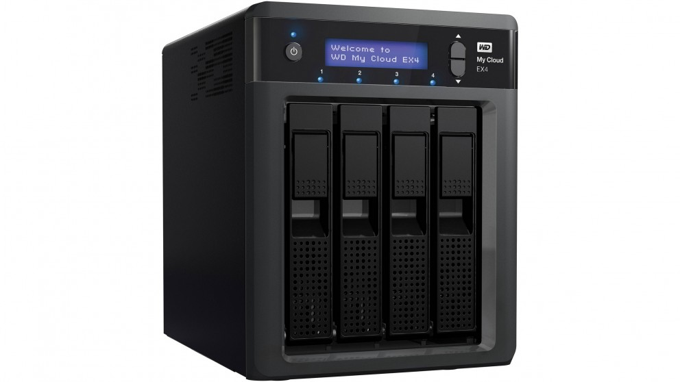 WD My Cloud EX4 16TB Network Hard Drive