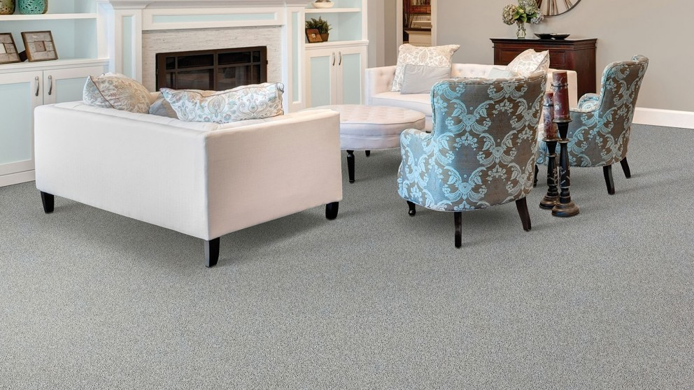 Smartstrand Silk Reserve Exquisite Softness Antiques Silver Carpet Flooring