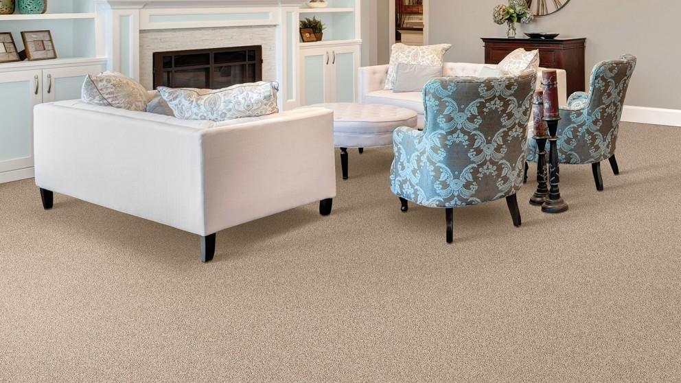 Smartstrand Silk Reserve Exquisite Softness English Toffee Carpet Flooring