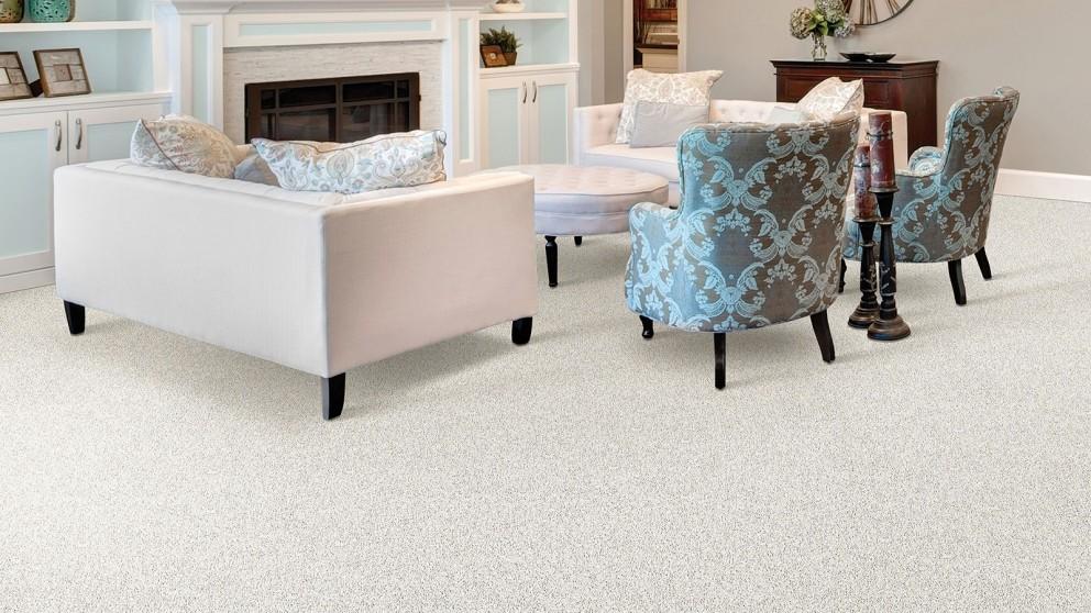 Smartstrand Silk Reserve Exquisite Softness Linen Lace Carpet Flooring