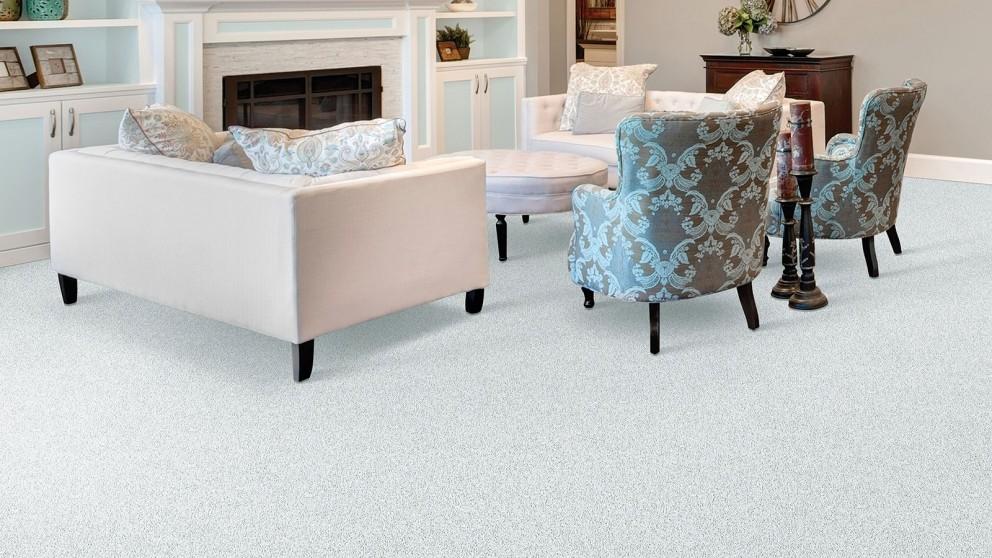 Smartstrand Silk Reserve Exquisite Softness Monarch Bone Carpet Flooring