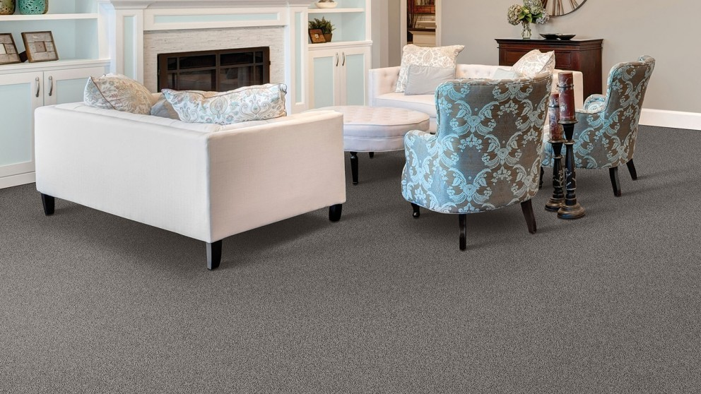 Smartstrand Silk Reserve Exquisite Softness Opulent Grey Carpet Flooring