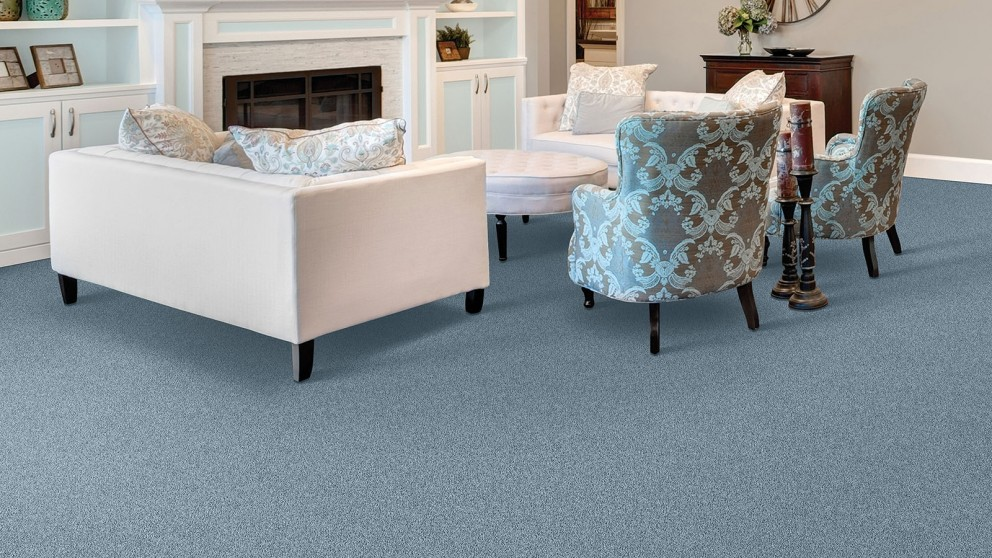 Smartstrand Silk Reserve Exquisite Softness Tranquil Bay Carpet Flooring