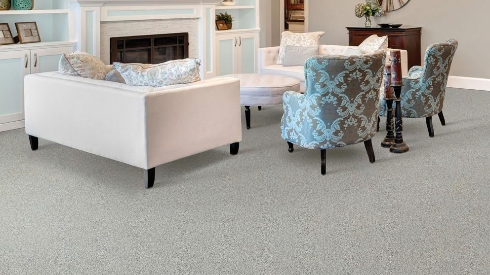 Smartstrand Silk Reserve Exquisite Softness Uptown Taupe Carpet Flooring