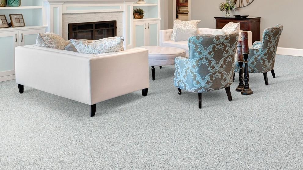 Smartstrand Silk Reserve Exquisite Softness Winter Ash Carpet Flooring