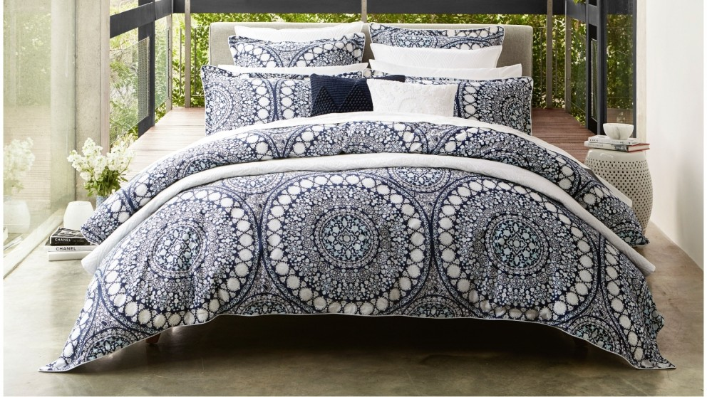 Ezra Quilt Cover Set - Queen
