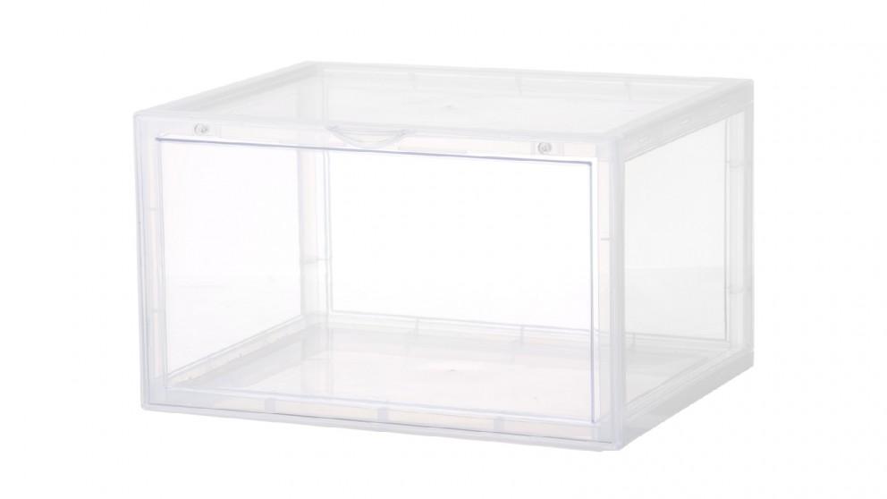 L.T. Williams Stackable Plastic Shoe Box