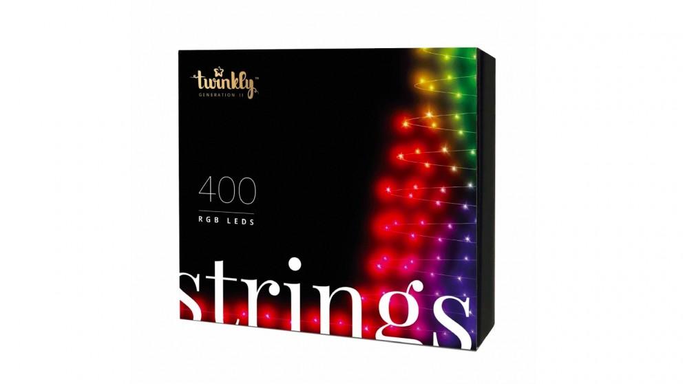Twinkly App-Controlled 400 RGB LED String Light AU Plug Generation II
