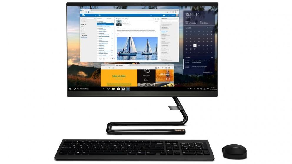 Lenovo IdeaCentre 23.8-inch Celeron-J4025/4GB/1TB HDD All in One Desktop