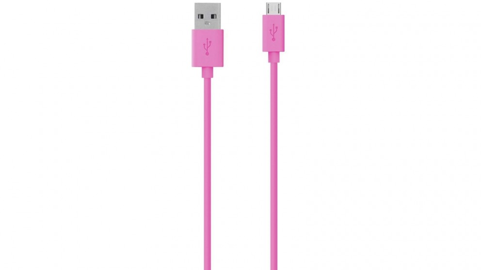 Belkin Micro USB 1.2m Charge Sync Cable - Pink