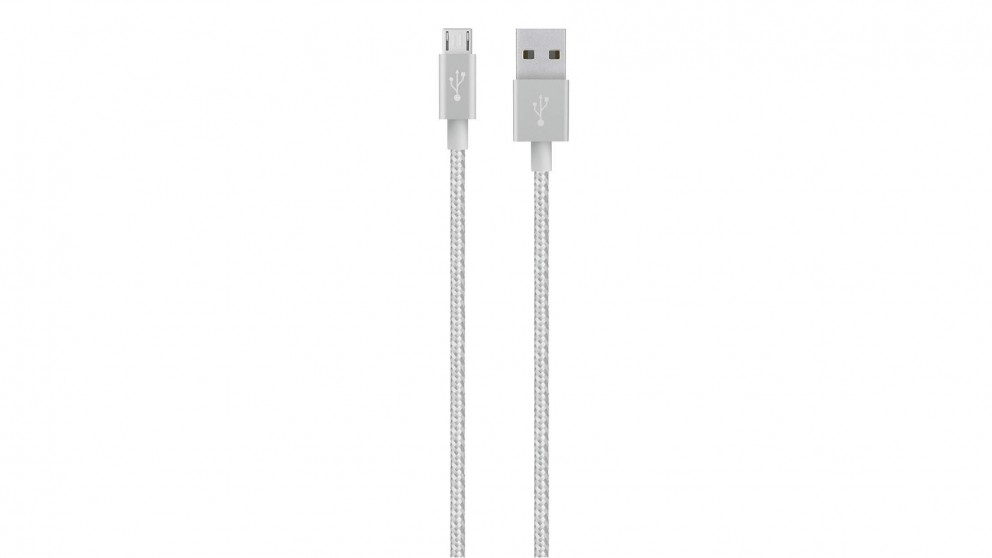 Belkin MIXIT Micro-USB to USB Cable - Silver