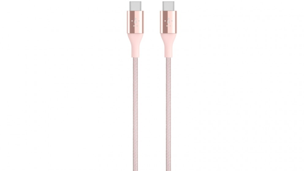 Belkin Mixit Duratek USB-C Cable with Dupont Kevlar - Rose Gold