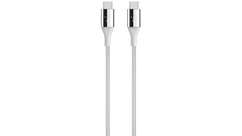 Belkin Mixit Duratek USB-C Cable with Dupont Kevlar - Silver