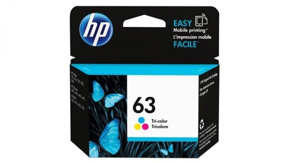 HP 63 Ink Cartridge - Tri-Colour