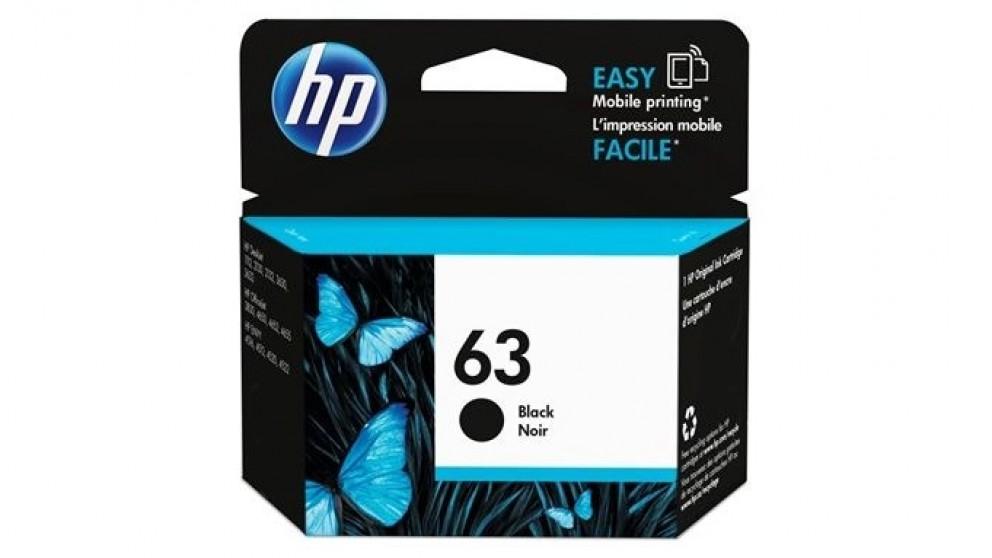 HP 63 Ink Cartridge - Black