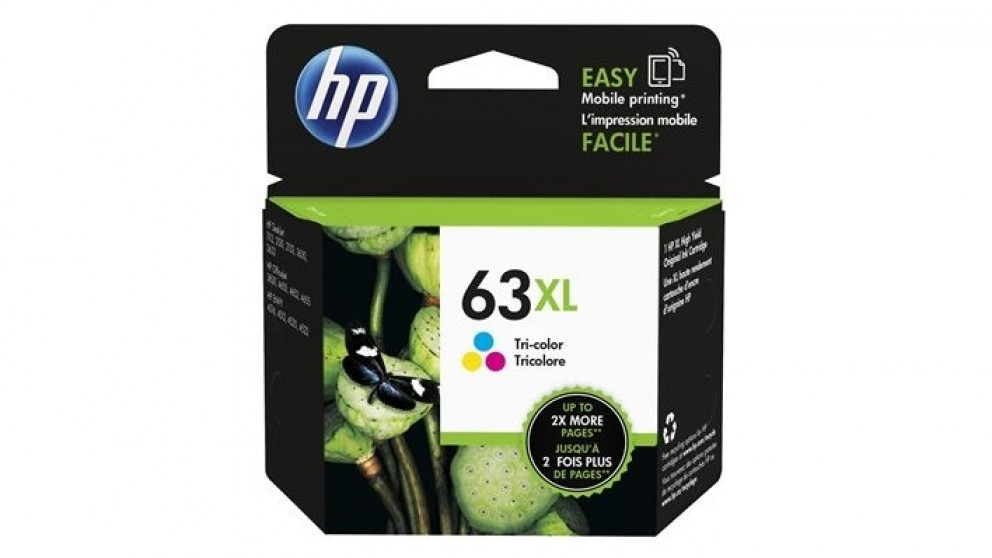 HP 63 XL Ink Cartridge - Tri-Colour