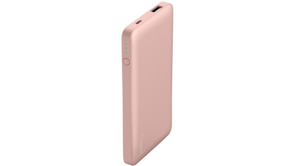 Belkin 10000mAh Pocket Power - Rose Gold