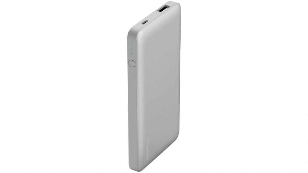 Belkin 10000mAh Pocket Power - Silver