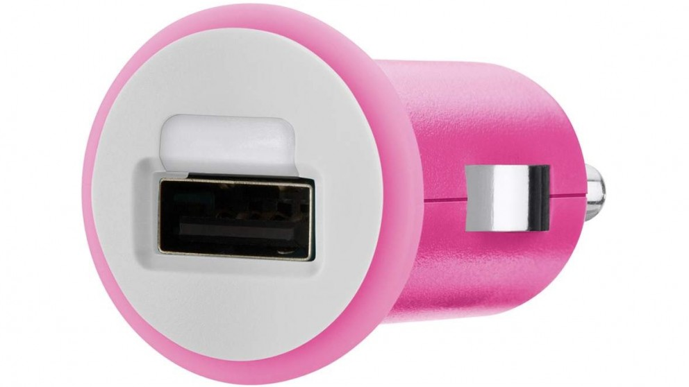 Belkin Mixit Up 2.1Amp USB Car Charger - Pink