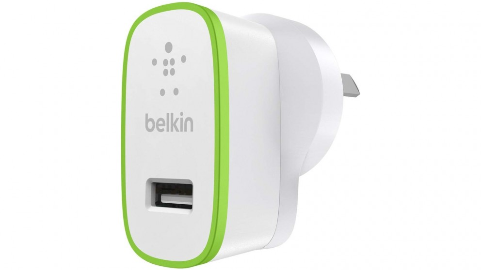 Belkin BoostUp 2.4Amp Micro Wall Charger - White