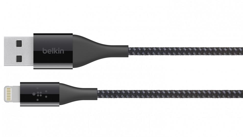 Belkin Mixit Duratek Lightning to USB Cable - Black