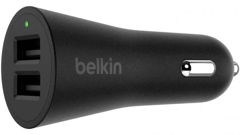 Belkin BOOST UP 2-Port Car Charger - Black