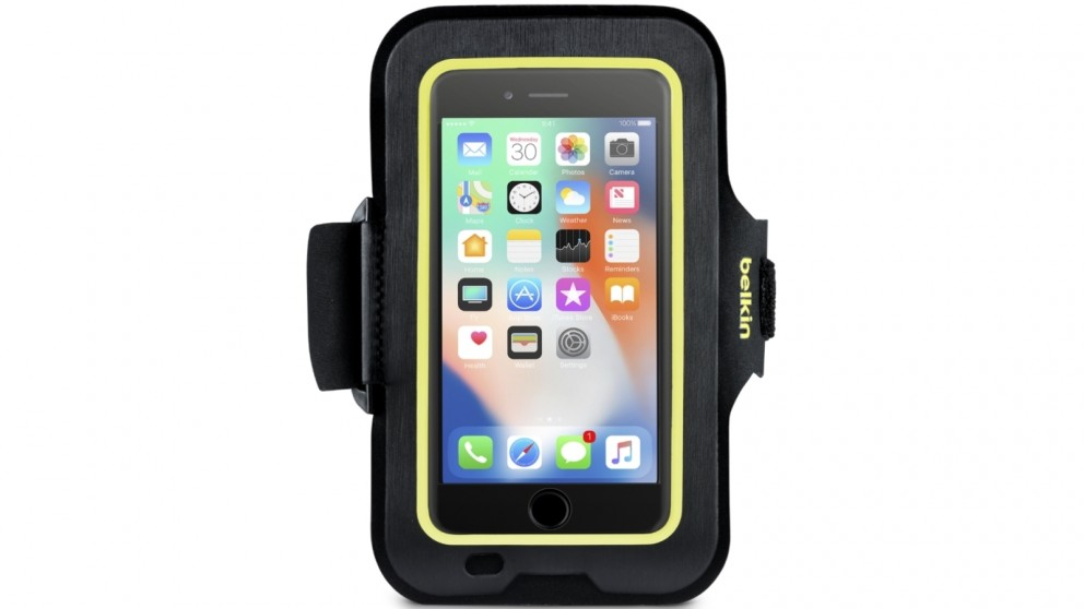 best loved 8db64 54595 Belkin Sport-Fit Armband for iPhone 8/7/6/6S