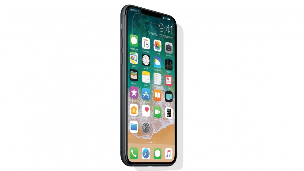 3SIXT Flat Glass Screen Protector for iPhone X