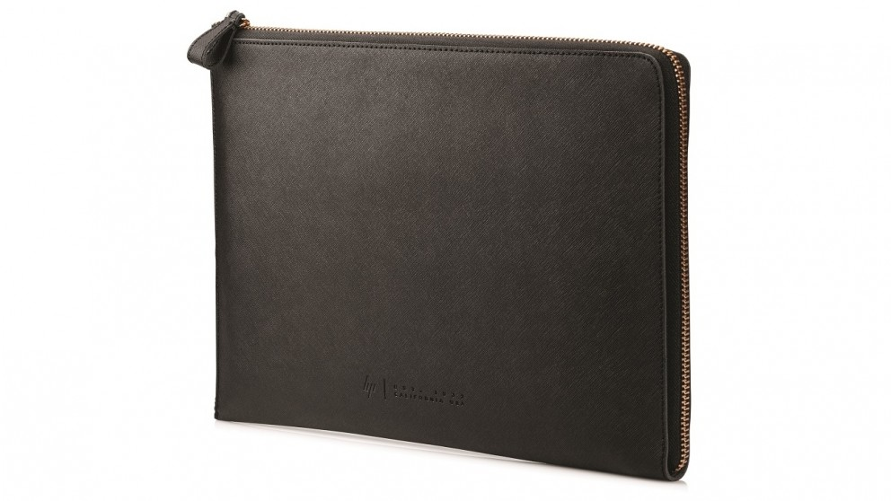 "HP 13.3"" Spectre Leather Laptop Sleeve - Black"