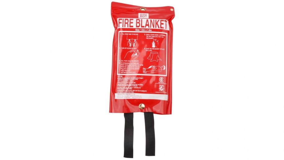 Firebox 1.0m x 1.0m Fire Blanket