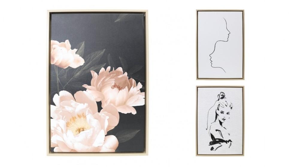 Splosh Full Bloom Framed Canvas 44x64