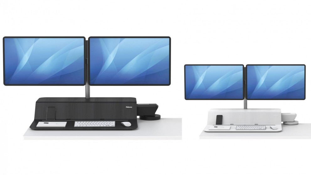 Fellowes Lotus RT Dual Monitor Sit-Stand Desk