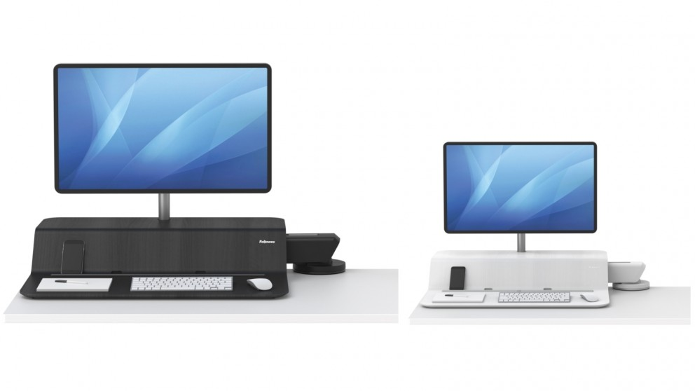 Fellowes Lotus RT Single Monitor Sit-Stand Desk