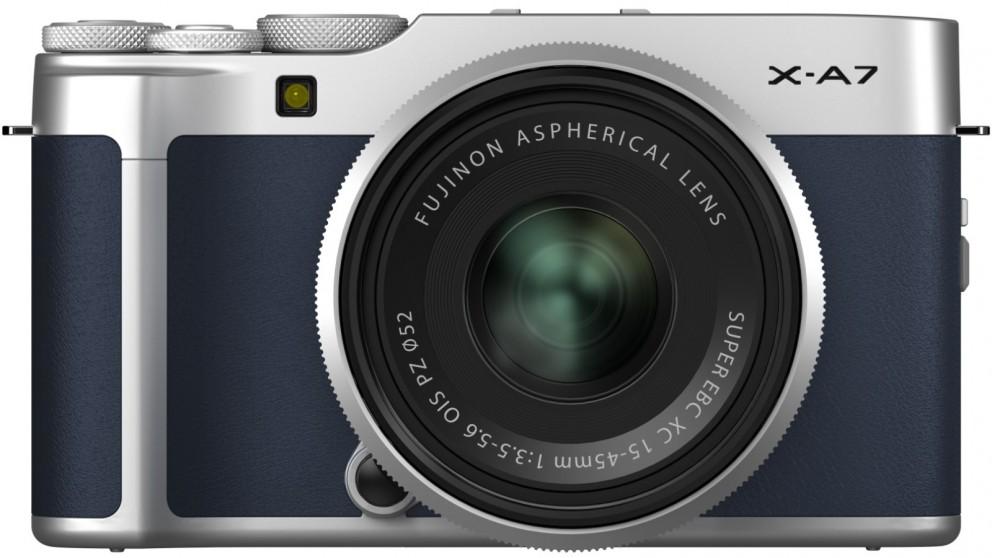 Fujifilm X-A7 Mirrorless Camera with XC15-45mm Lens Kit