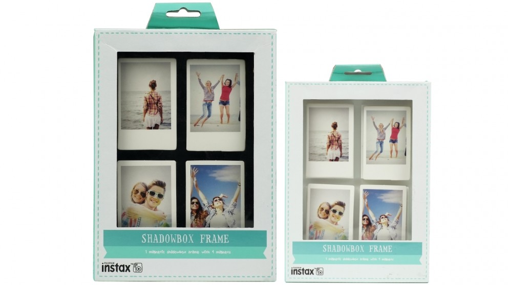 Instax 4 Print Shadowbox Photo Frame