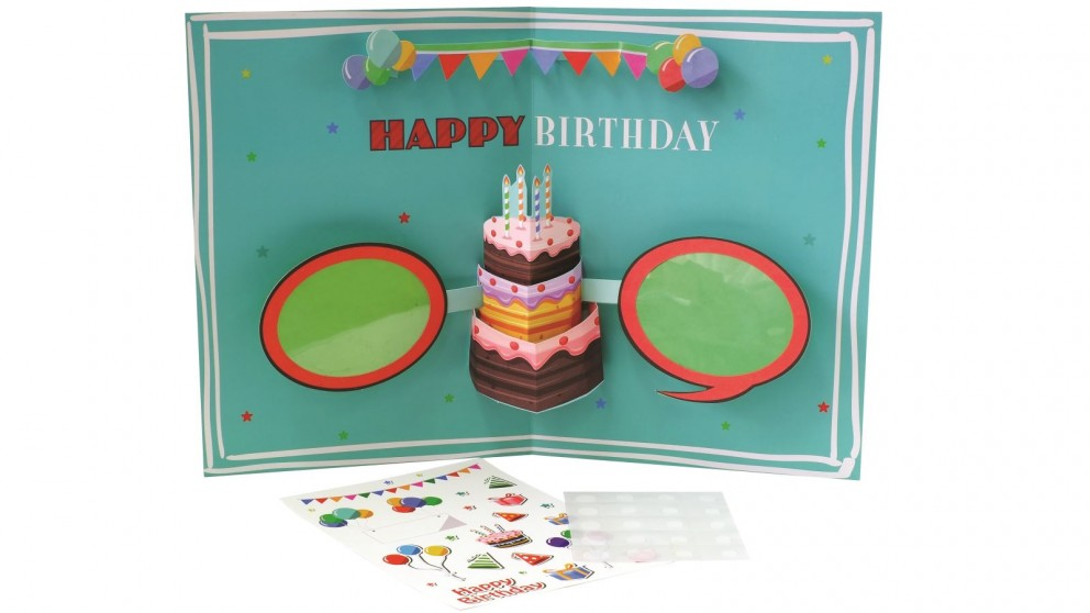 Instax Photo Board Card - Birthday