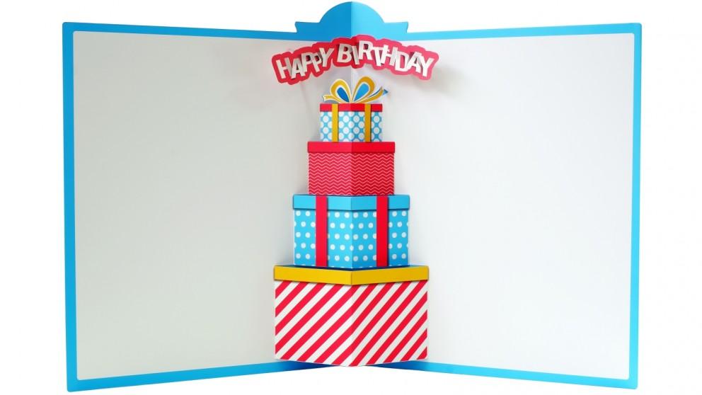 Instax Jumbo Sized Pop-Up Photo Card - Birthday Party
