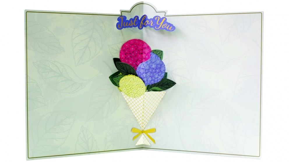 Instax Jumbo Photo Card - Flowers Just For You