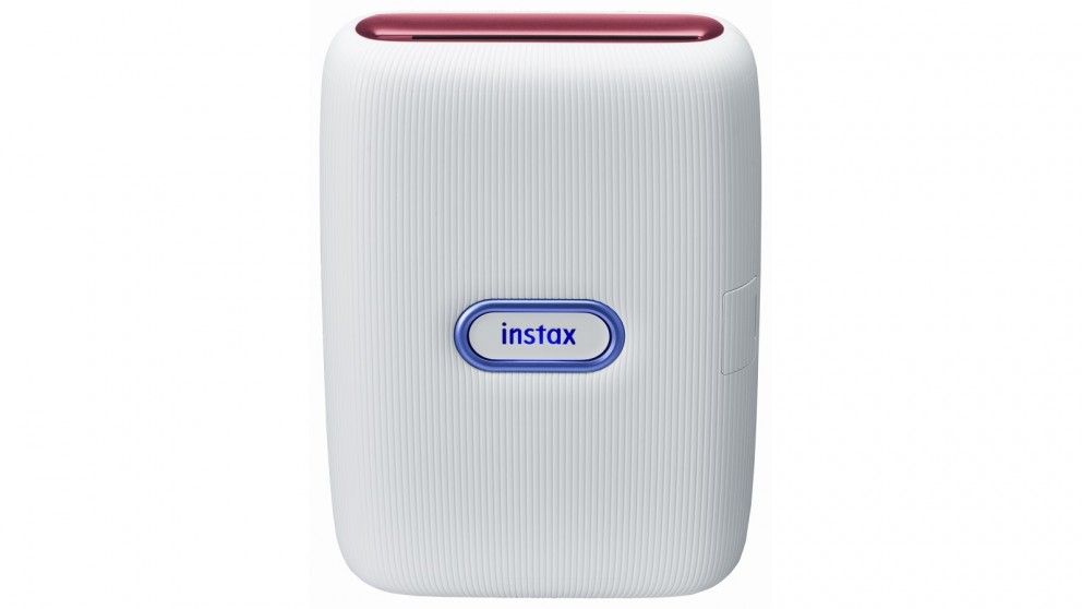 Instax Mini Link Special Edition - Ash White (Red & Blue)