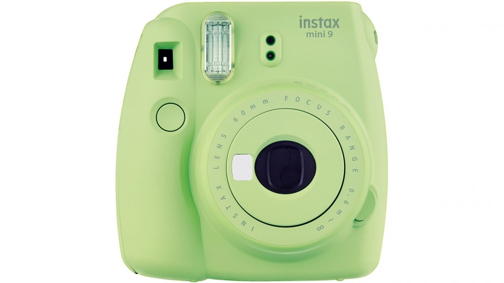 Instax Mini 9 Instant Camera - Lime Green