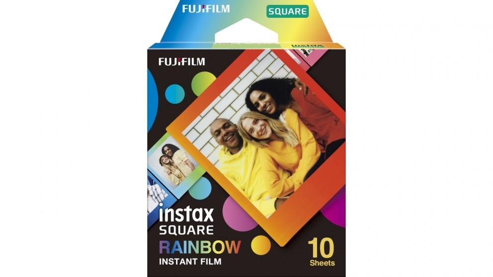 Instax Square Rainbow 10-Pack Instant Film
