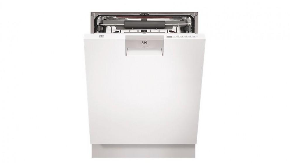 AEG 60cm ProClean Built Under Dishwasher - White