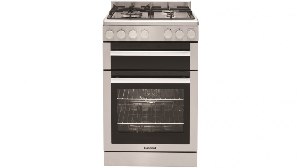 Euromaid FGO54S 540mm Gas Oven Freestanding Cooker - Stainless Steel