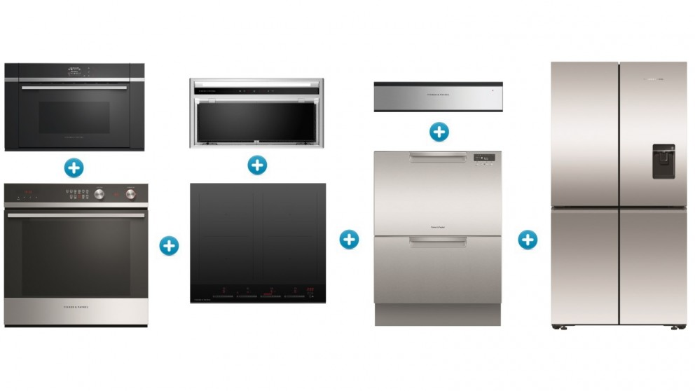 Fisher & Paykel 60cm Induction Contemporary Kitchen Set