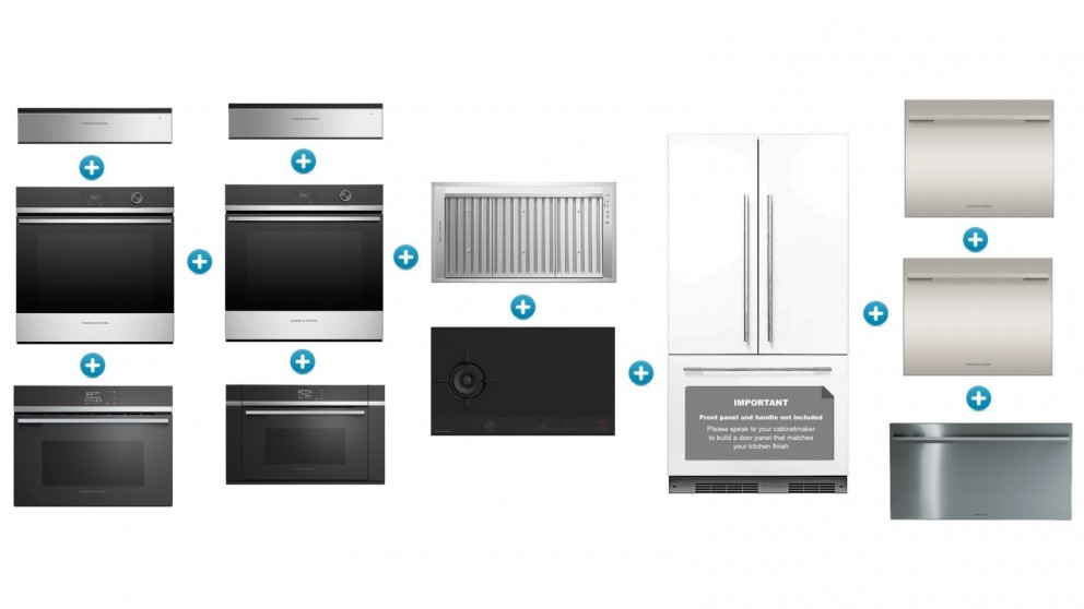 Fisher & Paykel Large Contemporary Kitchen Set