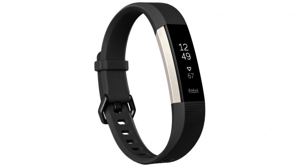 Fitbit Alta HR Large Fitness Tracker - Black